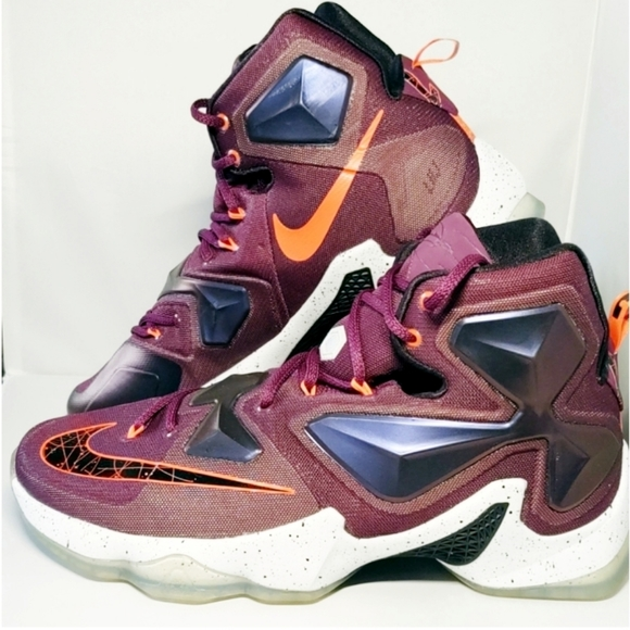Nike Lebron 3 Xiii Mulberry Mens Shoes